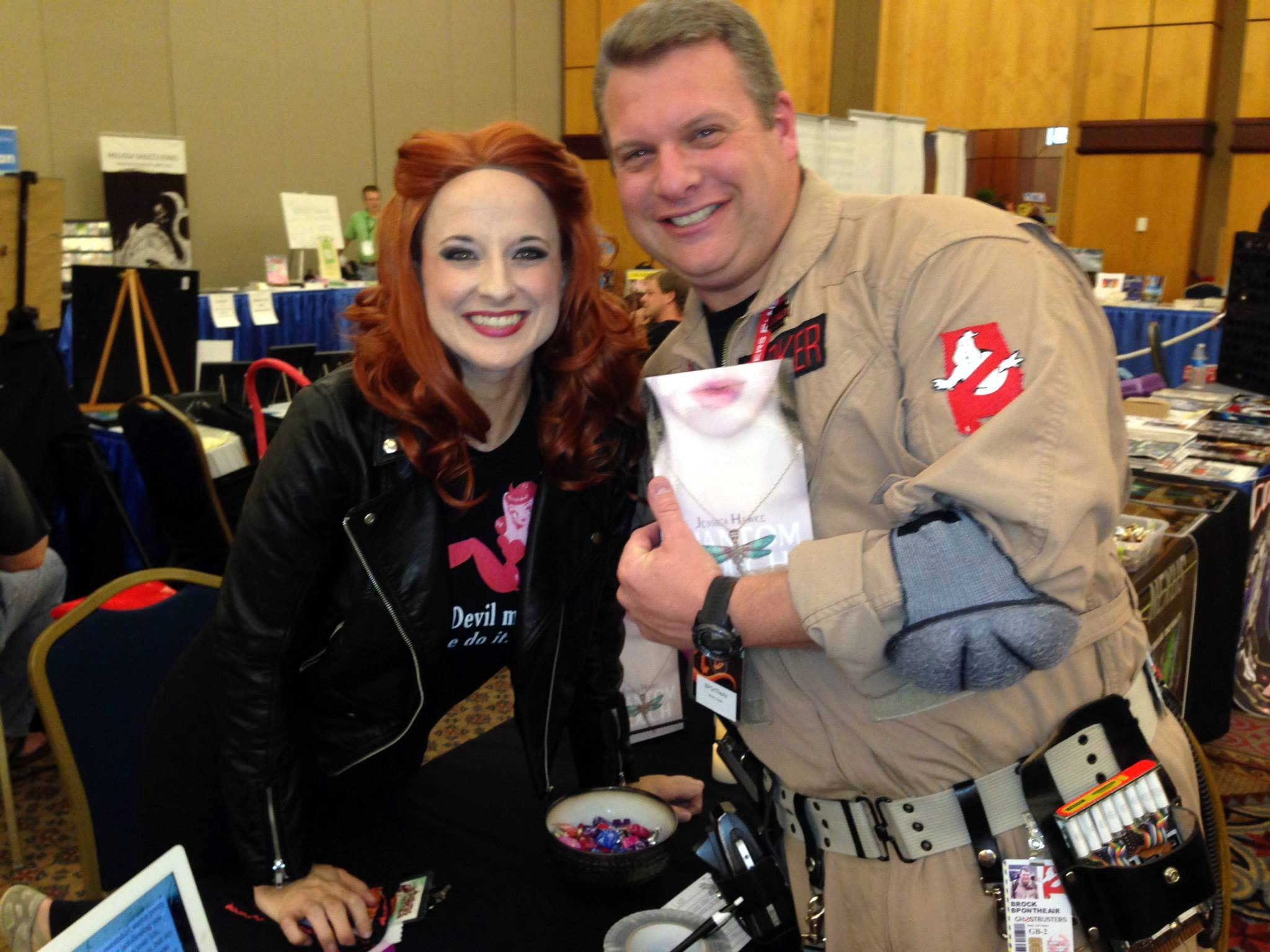 Have no fear - when there's something strange in the neighborhood, there's a friendly neighborhood Ghostbuster around! I attended the Alabama Phoenix Festival as a guest author! SO MUCH FUN!